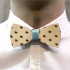 Деревянная галстук-бабочка из фанеры AB002