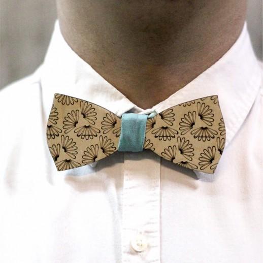 Деревянная галстук-бабочка из фанеры AB006