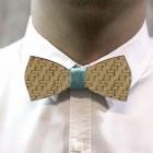 Деревянная галстук-бабочка из фанеры AB008