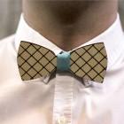 Деревянная галстук-бабочка из фанеры AB015
