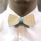 Деревянная галстук-бабочка из фанеры AB016