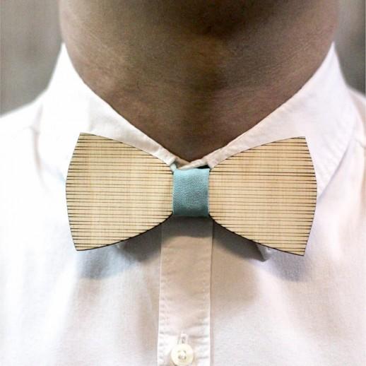 Деревянная галстук-бабочка из фанеры AB018