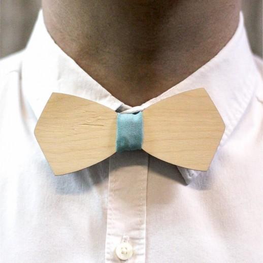 Деревянная галстук-бабочка из фанеры AB024