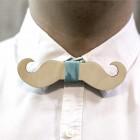 Деревянная галстук-бабочка из фанеры AB035
