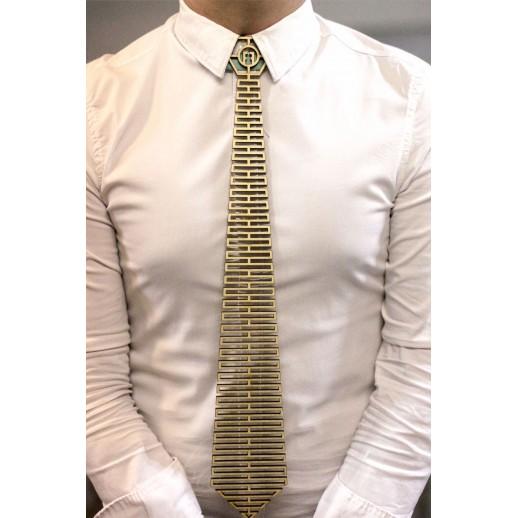 Деревянный галстук из фанеры AG001