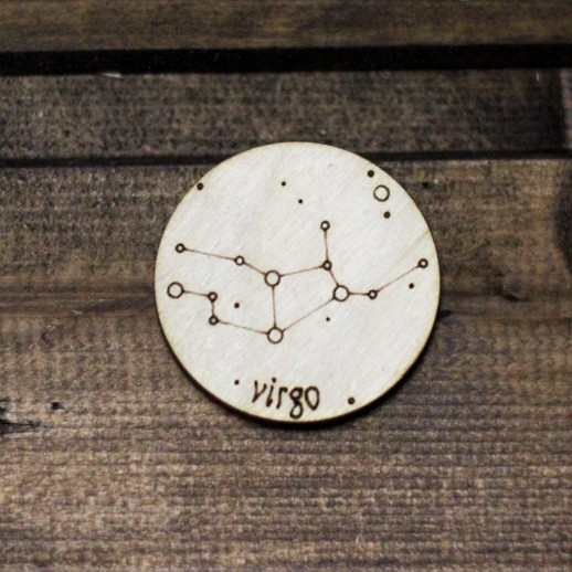 Знак зодиака ДЕВА ZZ018