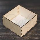 Коробка прямоугольная, фанера К003