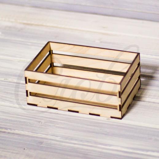 Ящик прямоугольный, фанера К008