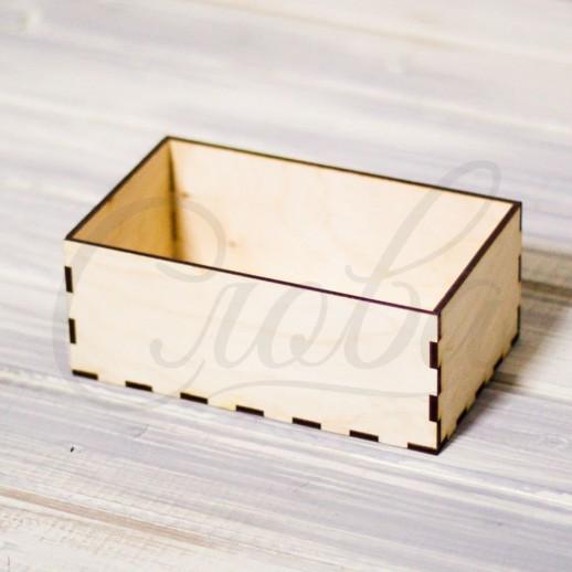 Ящик прямоугольный под цветы, фанера К011