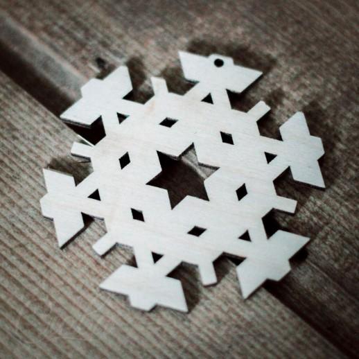 Игрушка Снежинка NY030
